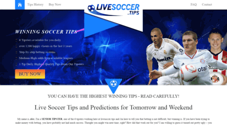 Sports betting predictions football