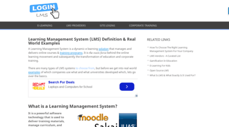 Visit Lmslogin Org Learning Management System Lms An Online