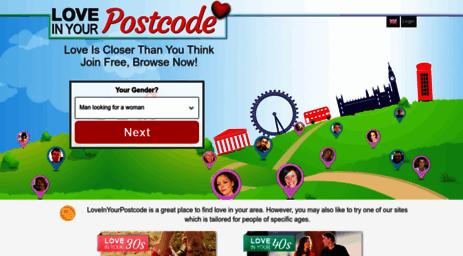 postcode dating