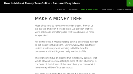 makeamoneytree.net