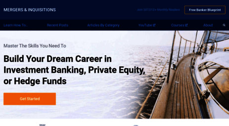 Mergersandinquisitions Financial Modeling Investment Banking Training From Wall Street
