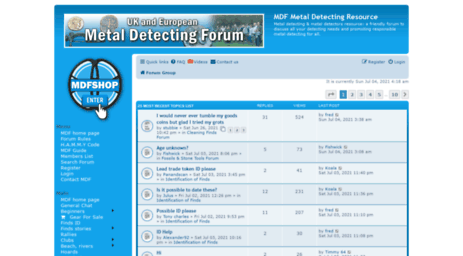 metaldetectingforum.co.uk