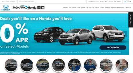 Whether Youu0027re Looking For The Hottest New Vehicle Or An Affordably Priced Used  Car, Mohawk Honda Has The Best Selection. Stop By To Find Your Next Car ...