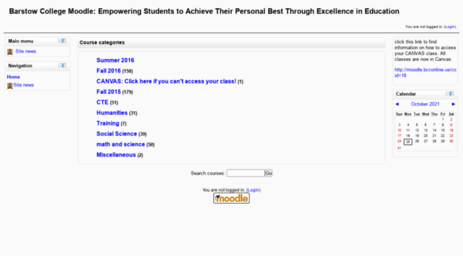barstow community college moodle