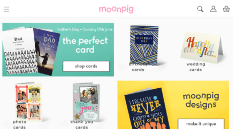 Visit moonpig moonpig personalized cards online greeting at moonpig you can create personalized cards online in moments discover our greeting cards that are perfect for any occasion and make it custom with your m4hsunfo