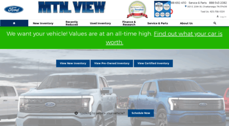 Mtn View Ford >> Visit Mvford Com Mtn View Ford Lincoln Your Local Ford Dealer