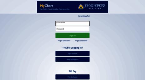 mychart.hopkinsmedicine.org app