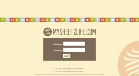 mysheetzlife