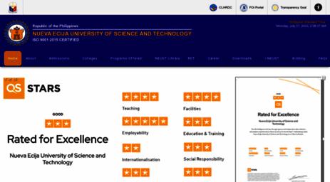 Visit Neust Edu Ph Home Nueva Ecija University Of Science And