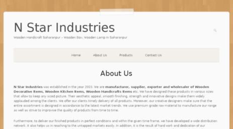 Visit Nstarindustries Com N Star Industries Wooden Handicraft