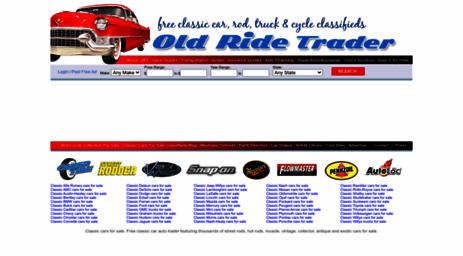 Visit Oldridetrader Com Classic Cars For Sale Free Classic Car