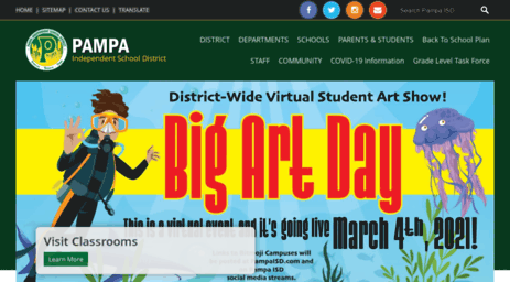 Visit Pampaisd.net - Pampa Independent School District.