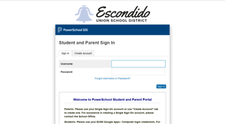 eusd org powerschool