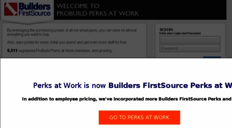 probuild perks at work