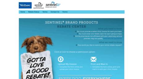 Visit Rebate.sentinelpet.com - Sentinel.