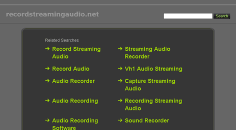 recordstreamingaudio.net