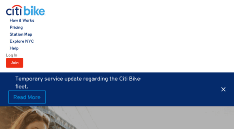 Visit Refer.citibikenyc.com - Citi Bike: NYC's Official Bike Sharing on
