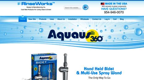 Visit Rinseworks Com Rinseworks Aquaus 360 Handheld Bidet
