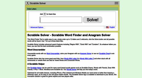 word finder scrabble cheat