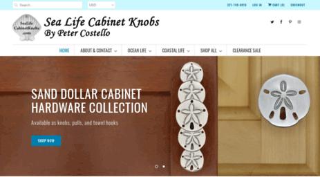 Sealifecabinetknobs.com. Sea Life Cabinet Knobs :   Tropical Fish Cabinet  Knobs Color U0026 Finish Options ...