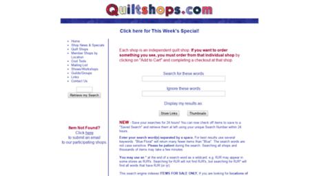 Visit Search.myquiltshops.com - Quiltshops.com - Quilt Search Engine. : quilt search engine - Adamdwight.com