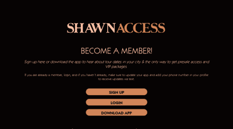 ShawnAccess (Official Shawn Mendes Fanclub) on the App Store
