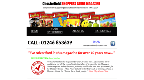 shoppersguidechesterfield.co.uk