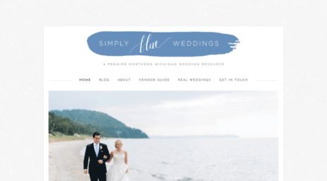 simplyblueweddings.com