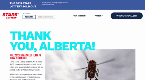 Stars lottery alberta prizes images