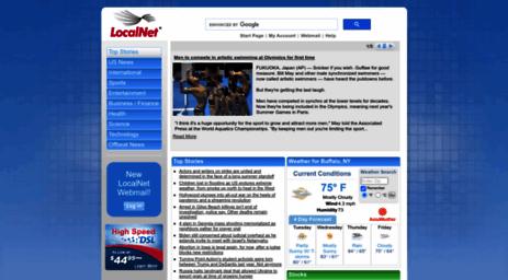 localnet startpage