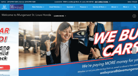 Visit Stlhonda Com New Used Cars In St Louis New Used Honda