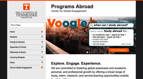 Visit Studyabroad Utk Edu The Programs Abroad Office