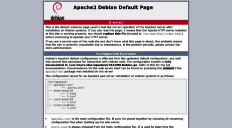 Visit Synapseco magnoto com - Apache2 Debian Default Page: It works