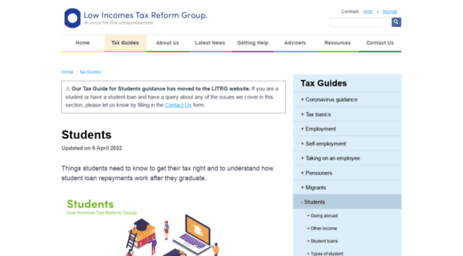 taxguideforstudents.org.uk