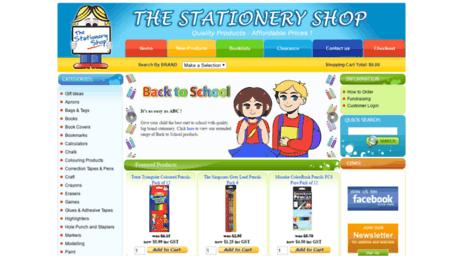 visit thestationeryshop com au cheap stationery online kids