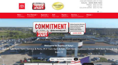Toyotaofkaty.com: Don McGill Toyota Of Katy | New U0026 Used Toyota Dealership  | Near Houston Online