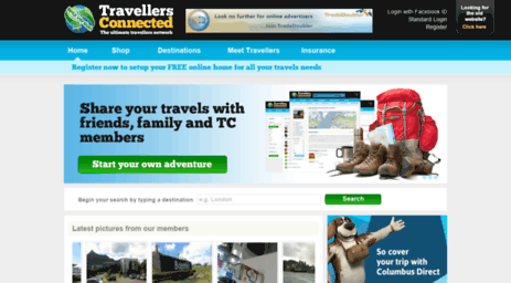 Website for pretty travel companions