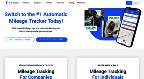 visit triplogmileage com mileage tracker app and expense