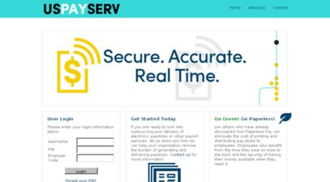 uspayserv electronic payroll services