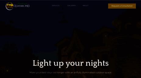 Visit utahlights.com landscape lighting pro of utah salt lake