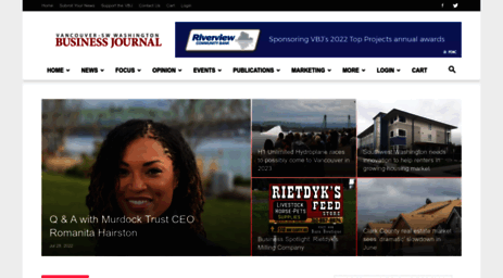 Visit Vbjusa.c - Business News In Vancouver Washington | Vancouver