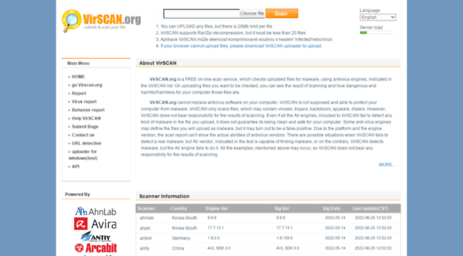 free online antivirus scanning software