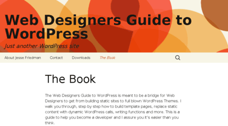 visit wdgwp com the book web designers guide to wordpress rh links giveawayoftheday com web designer's guide to wordpress jesse friedman pdf web designer's guide to wordpress plan theme build launch pdf download