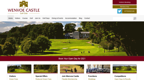 wenvoecastlegolfclub.co.uk