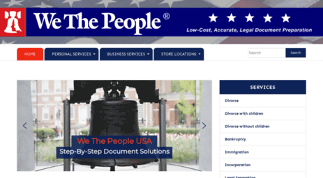 Visit Wethepeopleusacom We The People Legal Document - Legal document preparation services