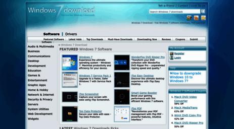 download free windows 7 software