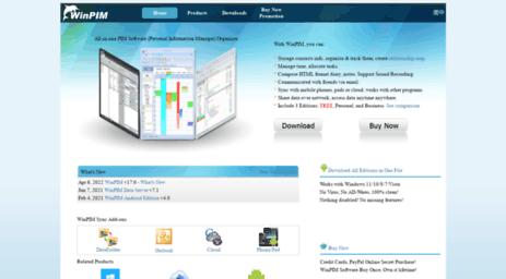visit winpim com winpim pim software personal information