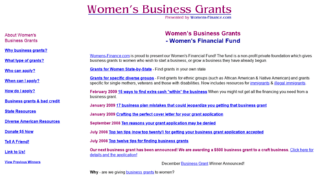 womensbusinessgrants.com
