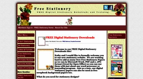 visit 1 computer stationery com free stationery com free