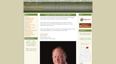 Visit 38jc alacourt gov - Jackson County Circuit Clerk's Office